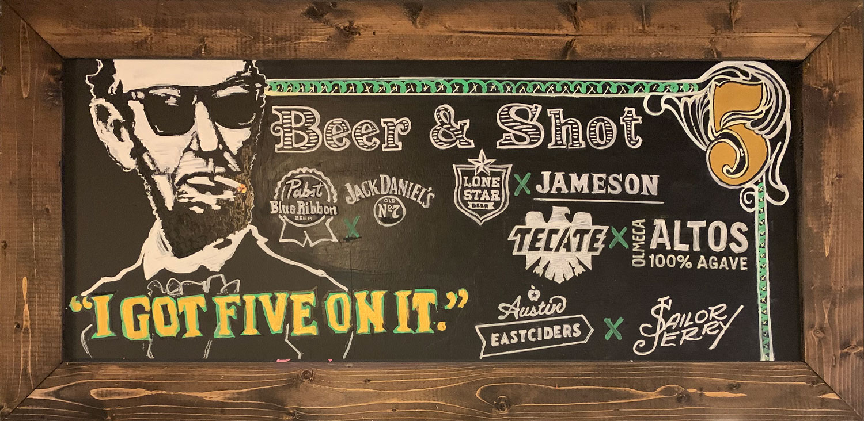 Beer & Shot Specials at The Limelight SA